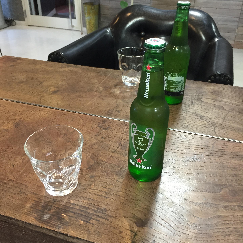 新宿の飲酒できる美容室セイヴィアン