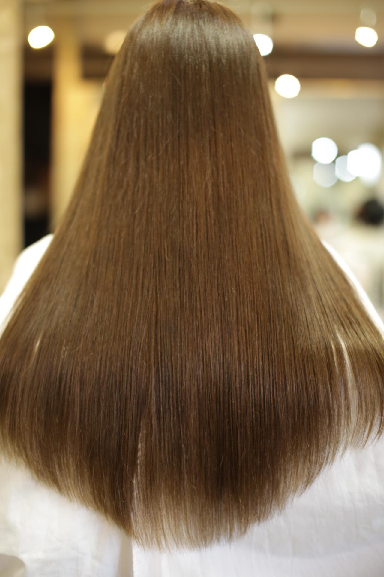 新宿のヘアカラーが上手いな美容室savianのヘアカラー・ミントアッシュベージュ