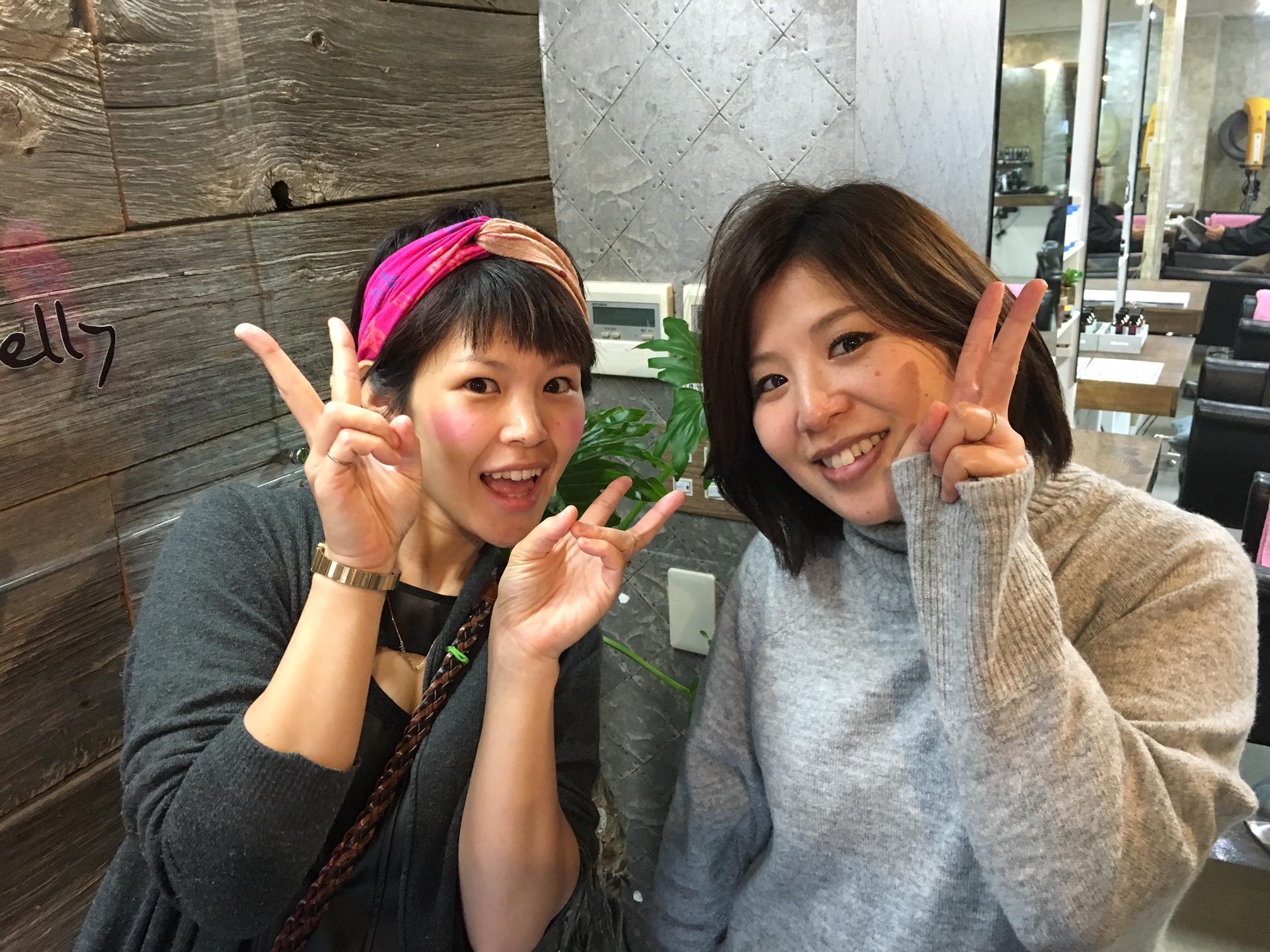 西武新宿美容室セイヴィアン 2人の女性スタイリスト