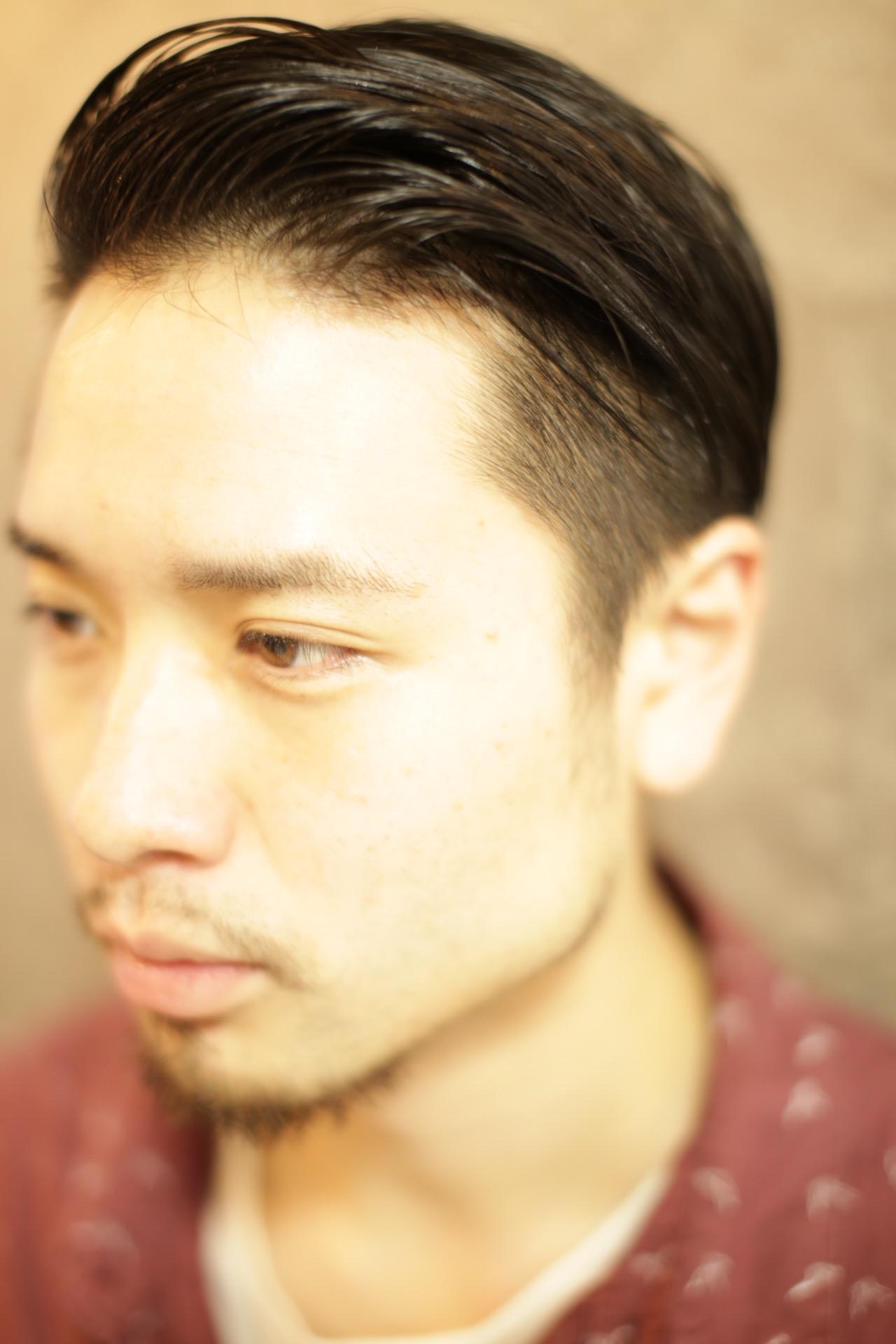 メンズカットがうまい新宿東口の美容室savianのモヒカン イケメン美容師