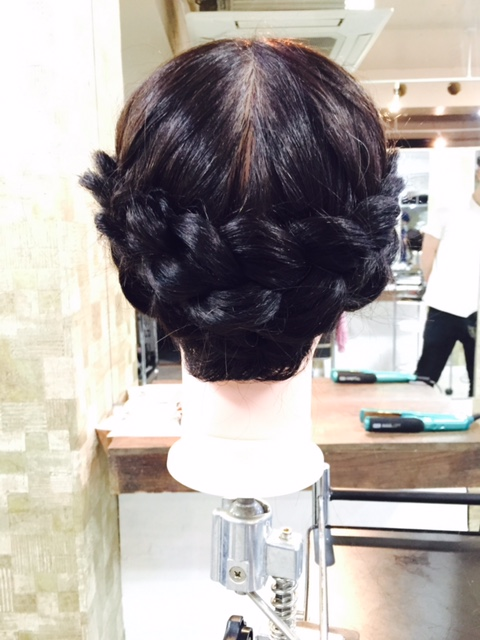 新宿の美容室savianのヘアセット・アップ・アレンジ美容院