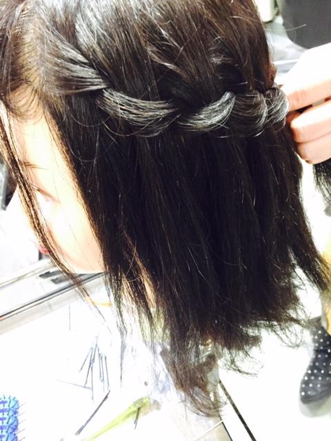 新宿の美容室・美容院savianのウォーターフォール・ヘアセット・アレンジ