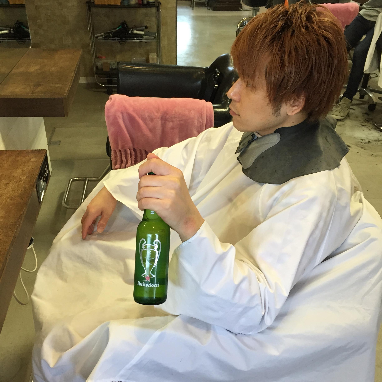 新宿美容室セイヴィアンのビール