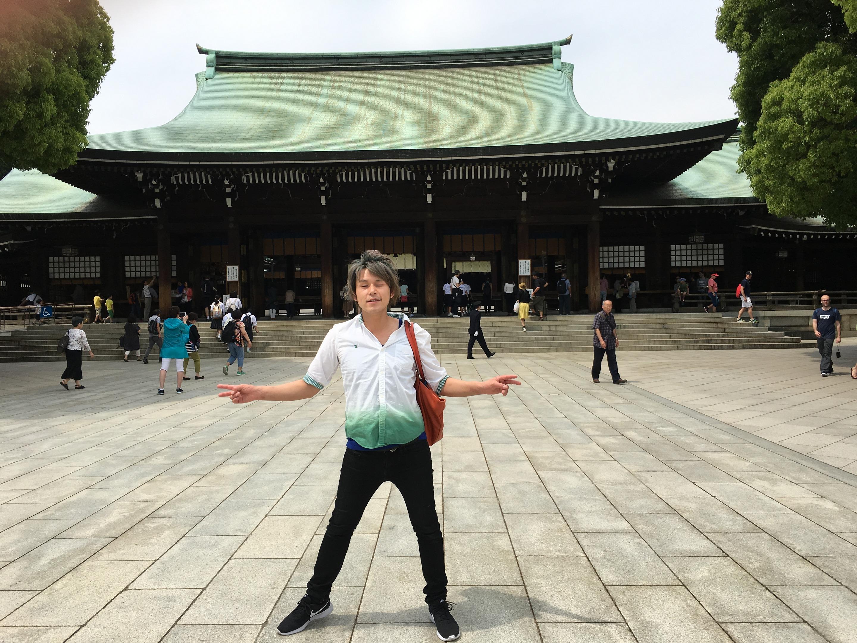 新宿の美容院セイヴィアンの武久です!東京観光楽しいです