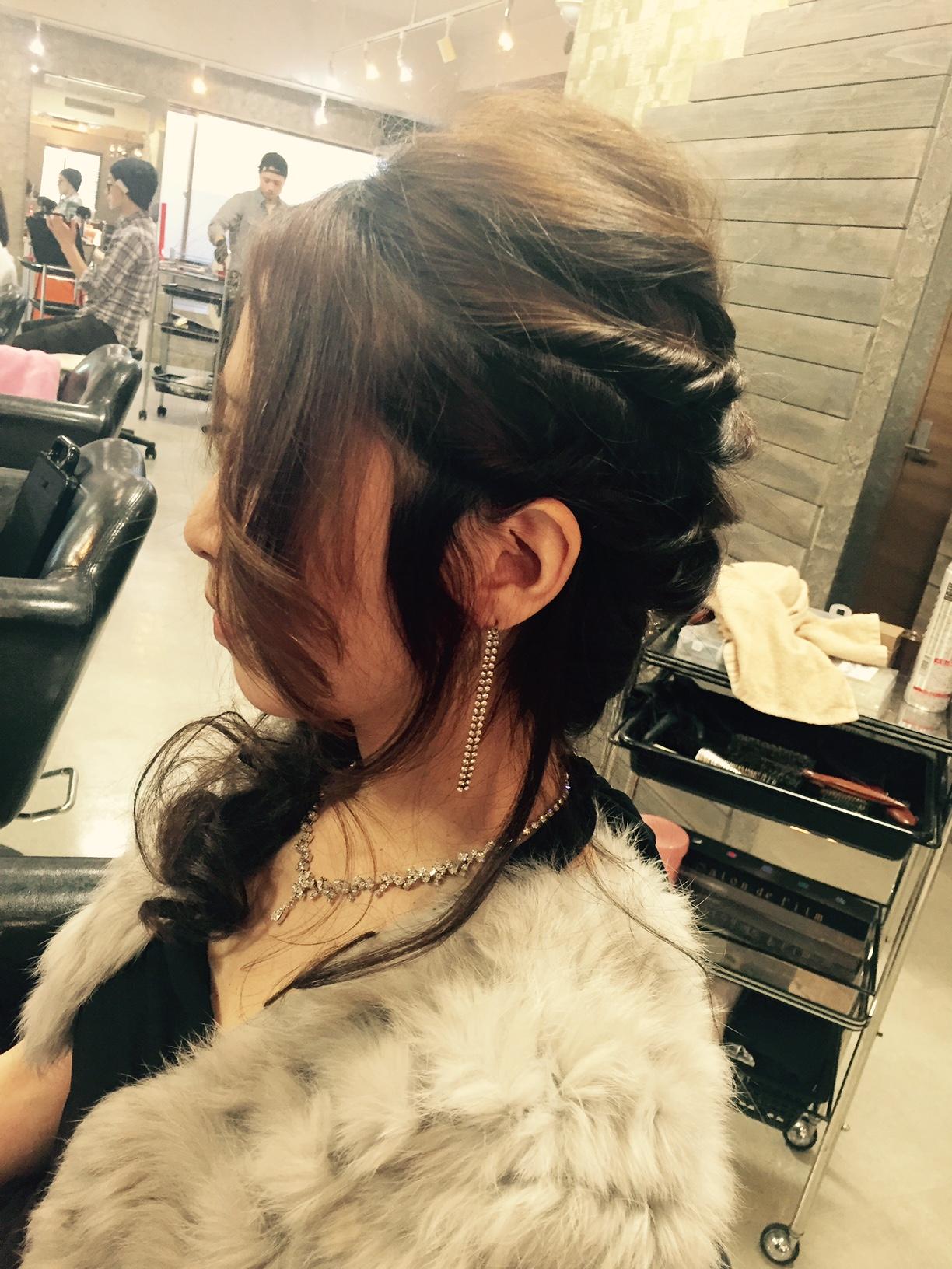 新宿のヘアセットがうまい美容室
