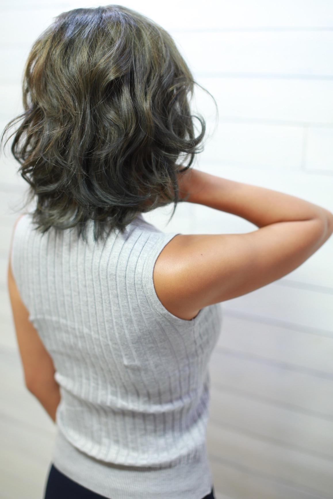 新宿ボブがかわいい美容室ヘアケアとヘッドスパ