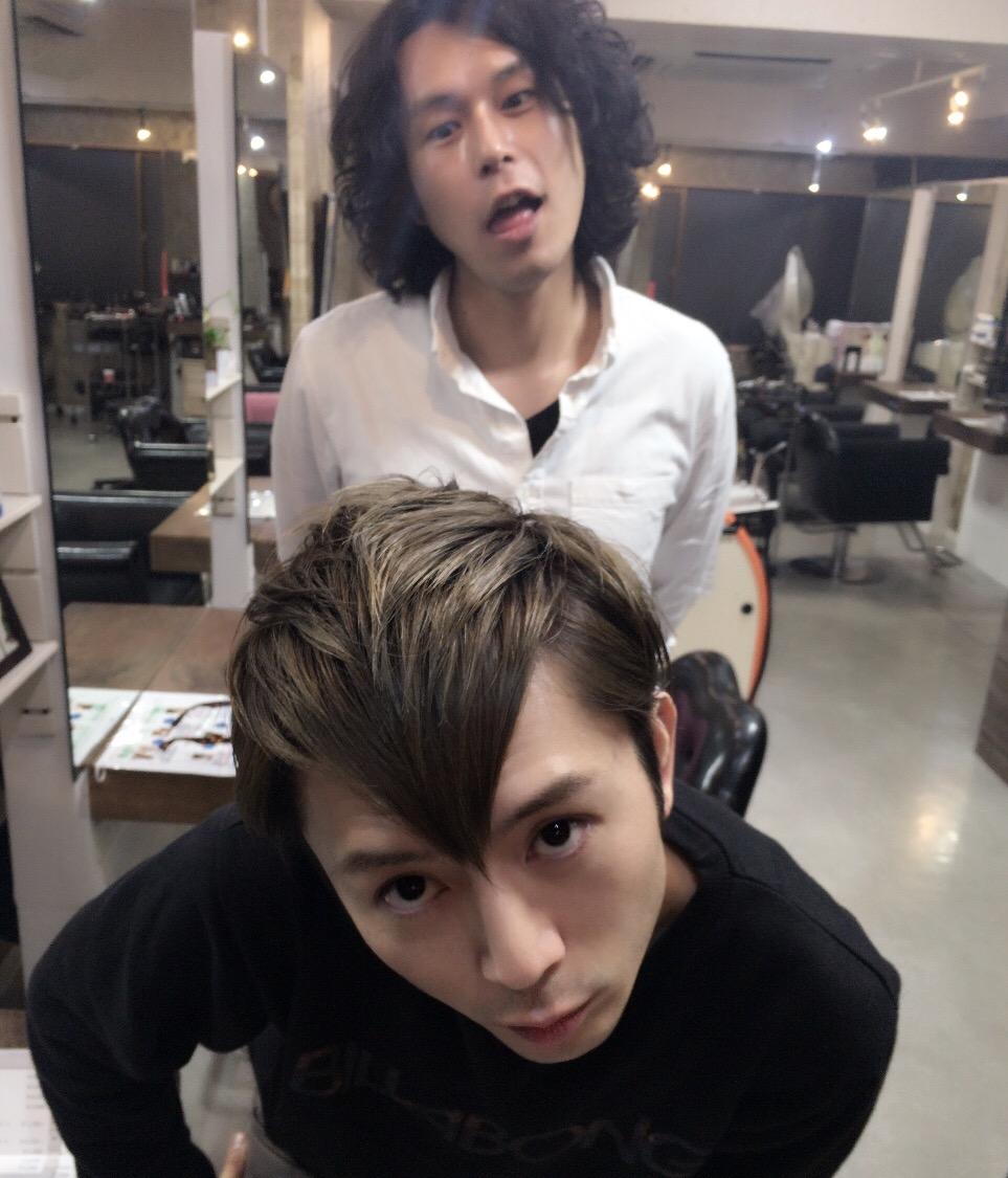イケメン美容師
