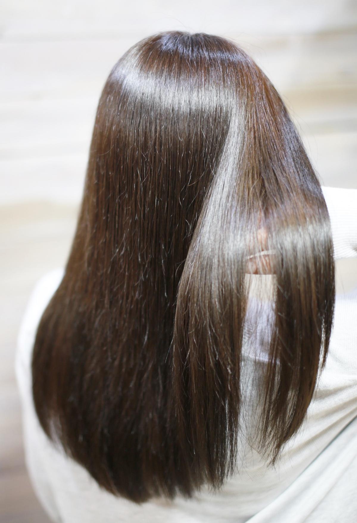 新宿のヘッドスパが気持ちいい美容室生トリートメントとヘアカラー