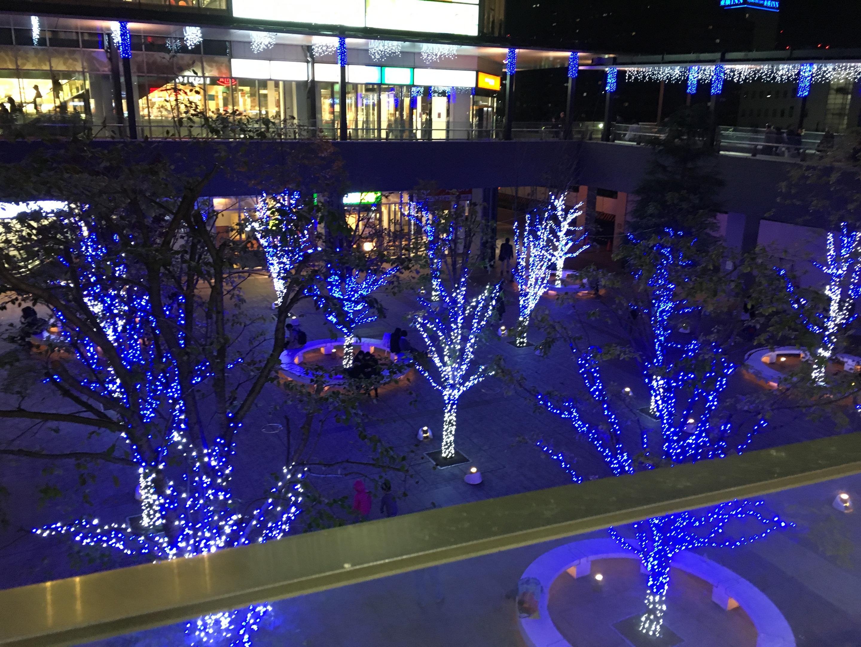 新宿歌舞伎町の美容室 西武新宿すぐの美容室 セイヴィアン クリスマスへ向け準備中