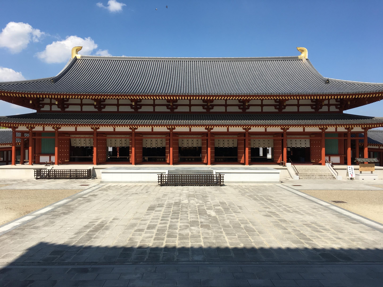 新宿の美容師 武久の夏休み 奈良薬師寺