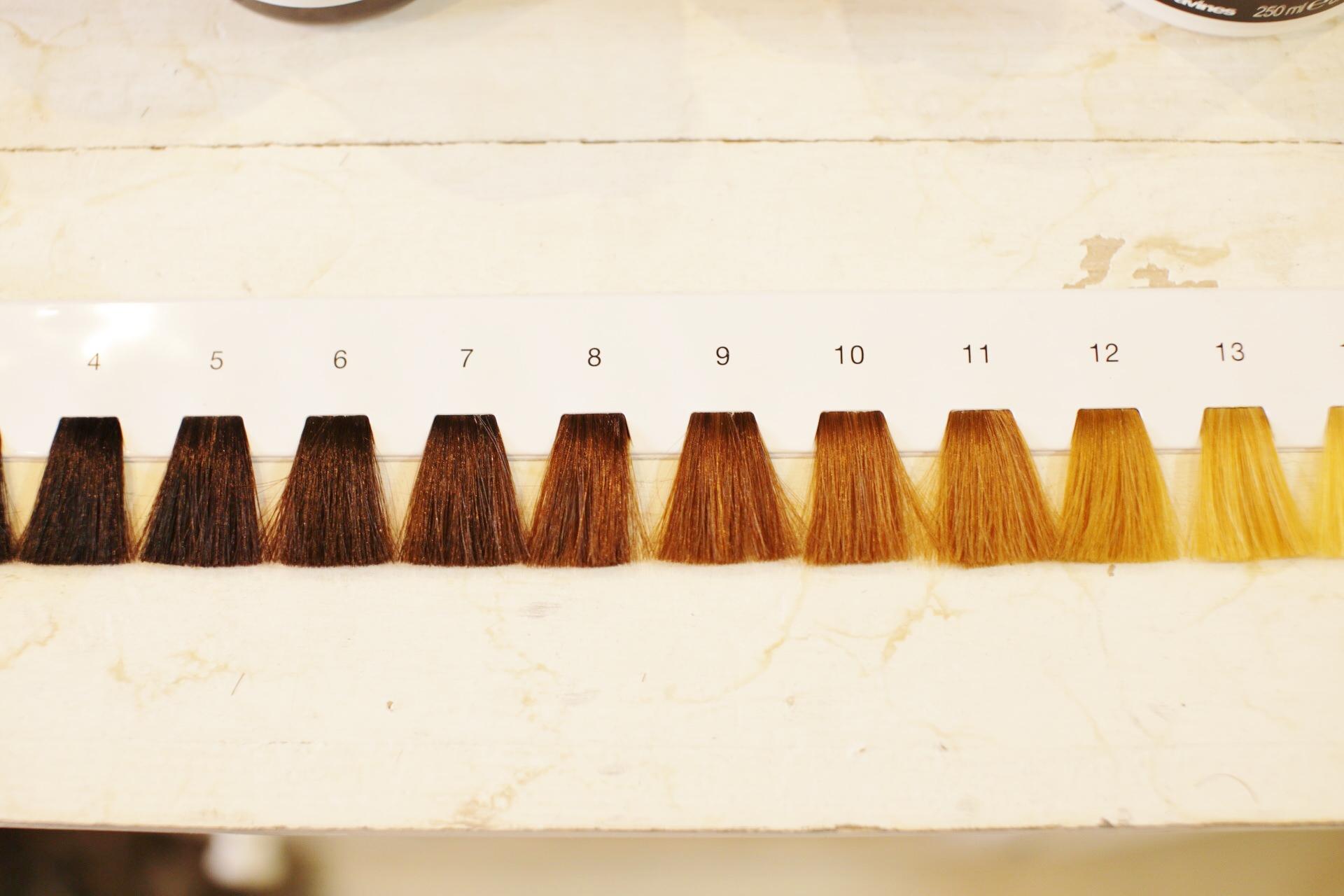 新宿のヘアカラーが得意な美容室美容院セイヴィアンの暗髪と黒髪の違い