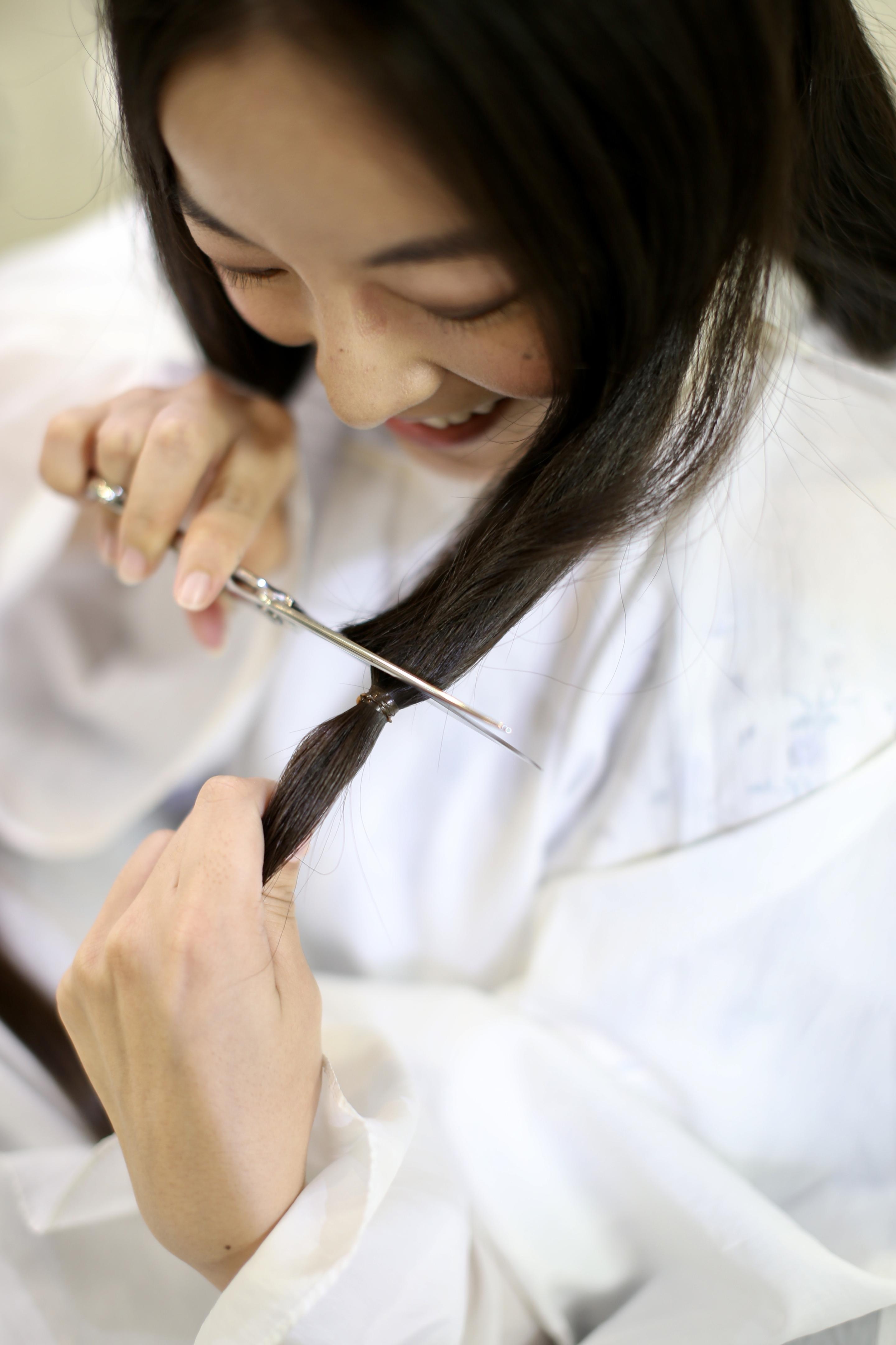 新宿でヘアドネーションができる美容院