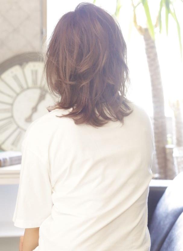 新宿のカット・パーマがうまい美容室savianの外ハネミックスボブ
