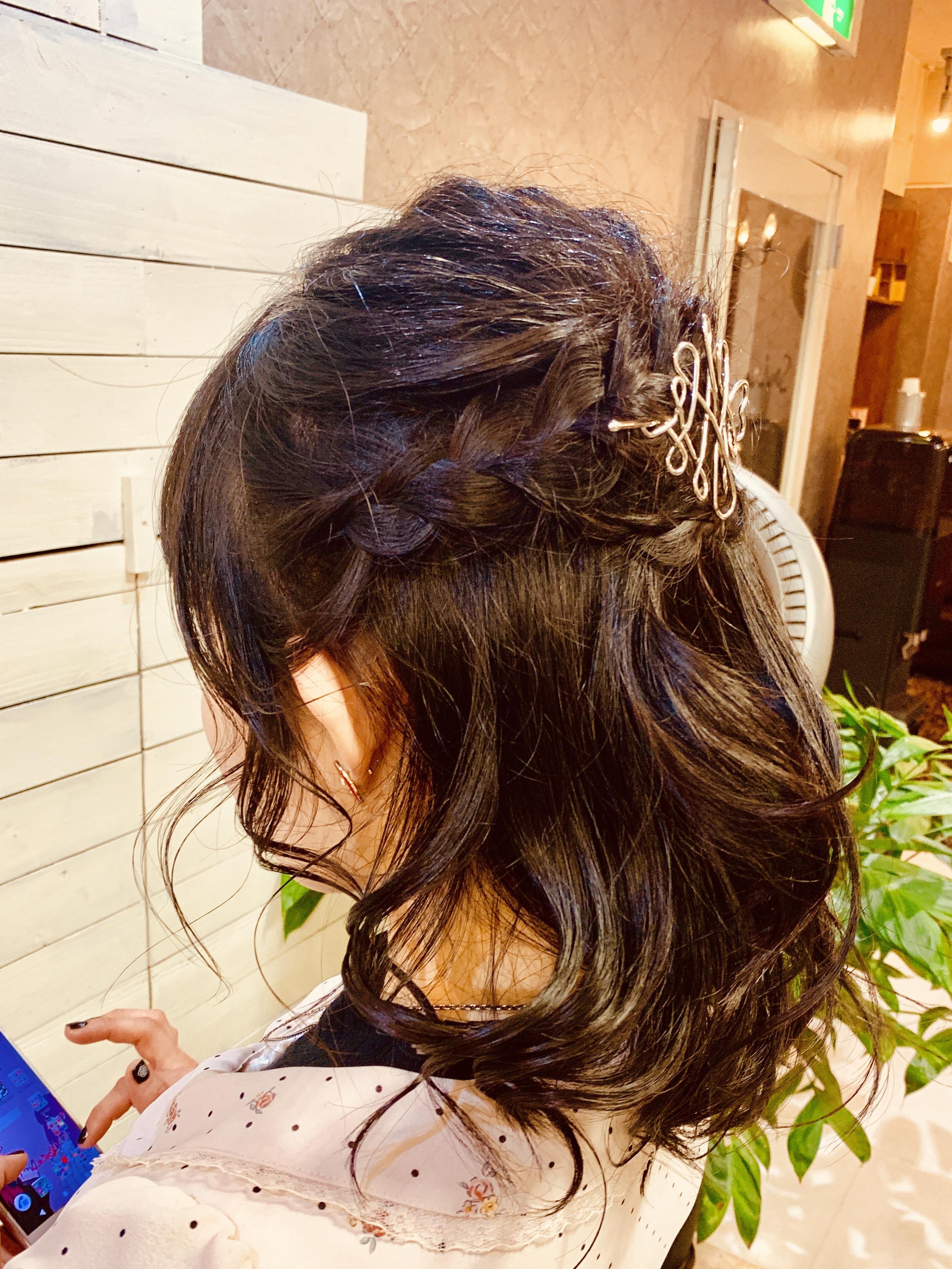 新宿でヘアセットが上手な美容室 セイヴィアン