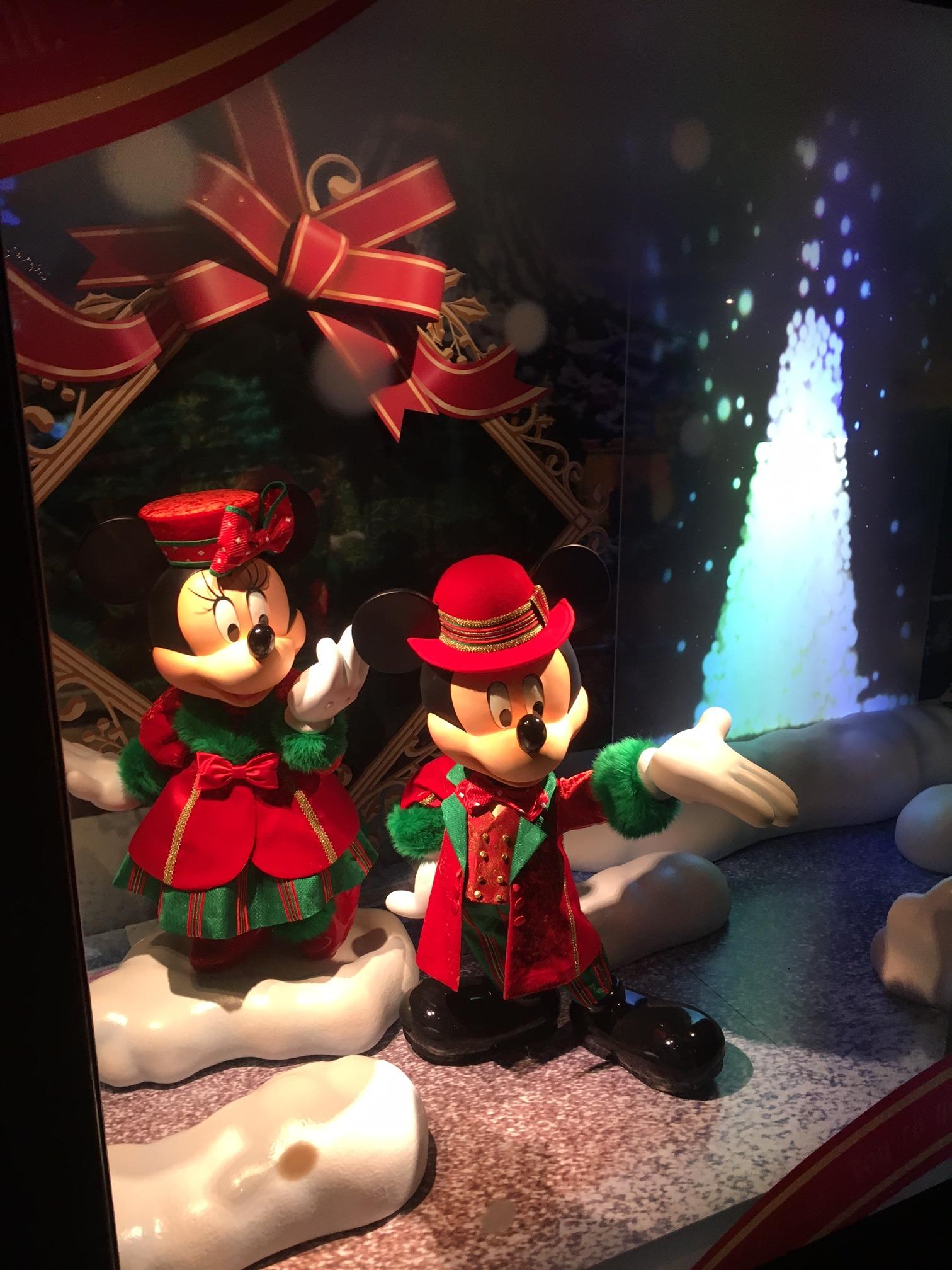 ミッキーもクリスマスversion セイヴィアンスタッフ武久  休日