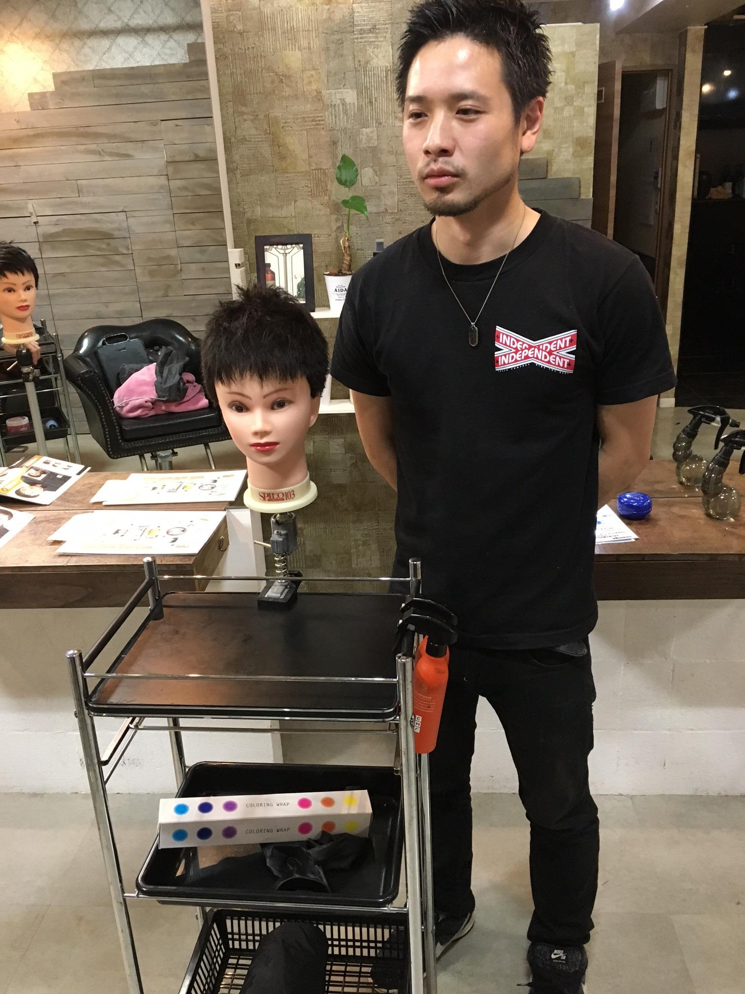 新宿東口美容室 メンズ ショート