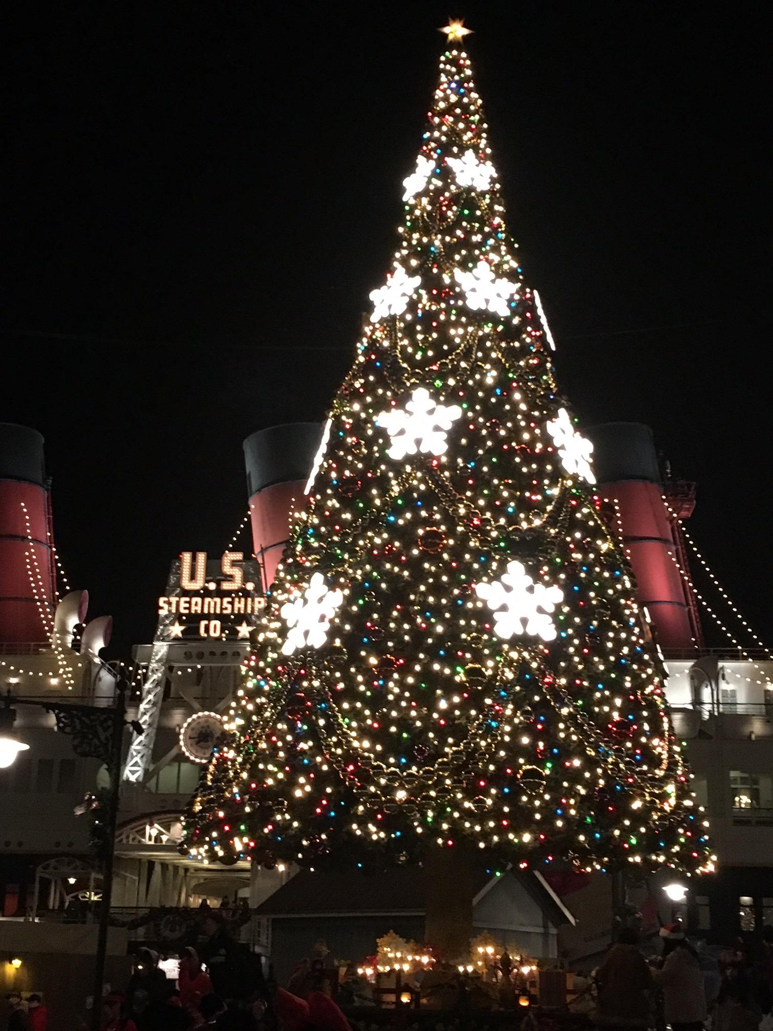 ディズニーのクリスマスツリー セイヴィアン武久の休日